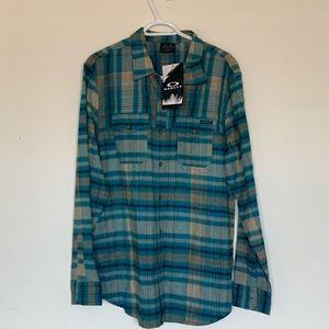 Oakley Logistics LongSleeve Woven Flannel Shirt